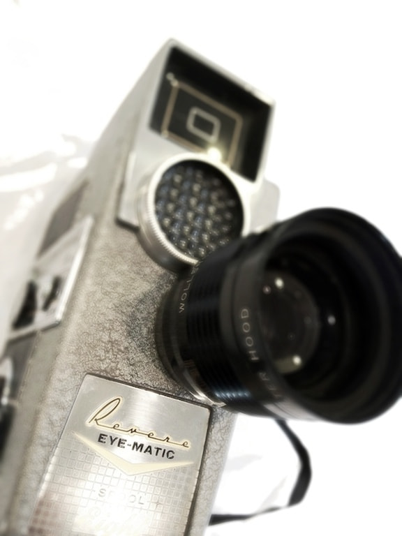 Photograph 8mm film camera, mostly front by Doug Eymer on 500px
