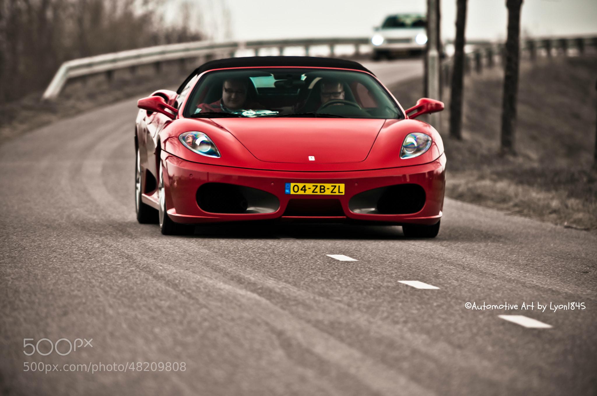 Photograph Ferrari F430 Spider by lyon1845 on 500px