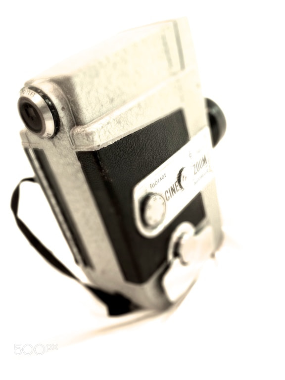 Photograph 8mm film camera, side by Doug Eymer on 500px