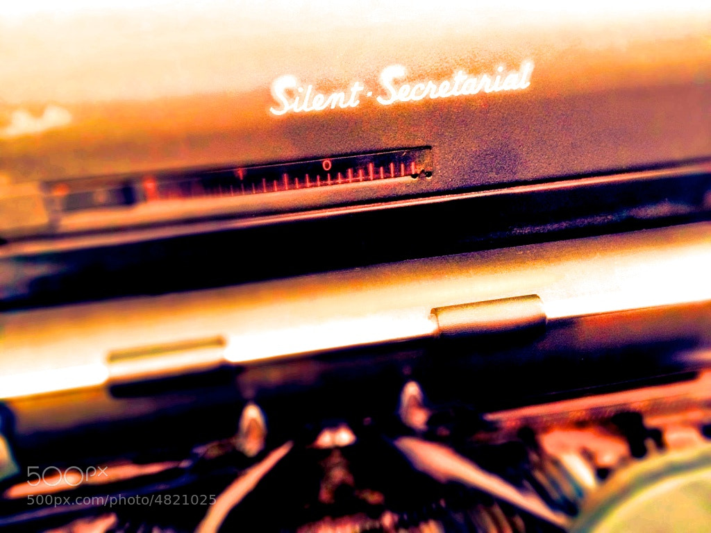 Photograph Silent Secretarial, front script by Doug Eymer on 500px