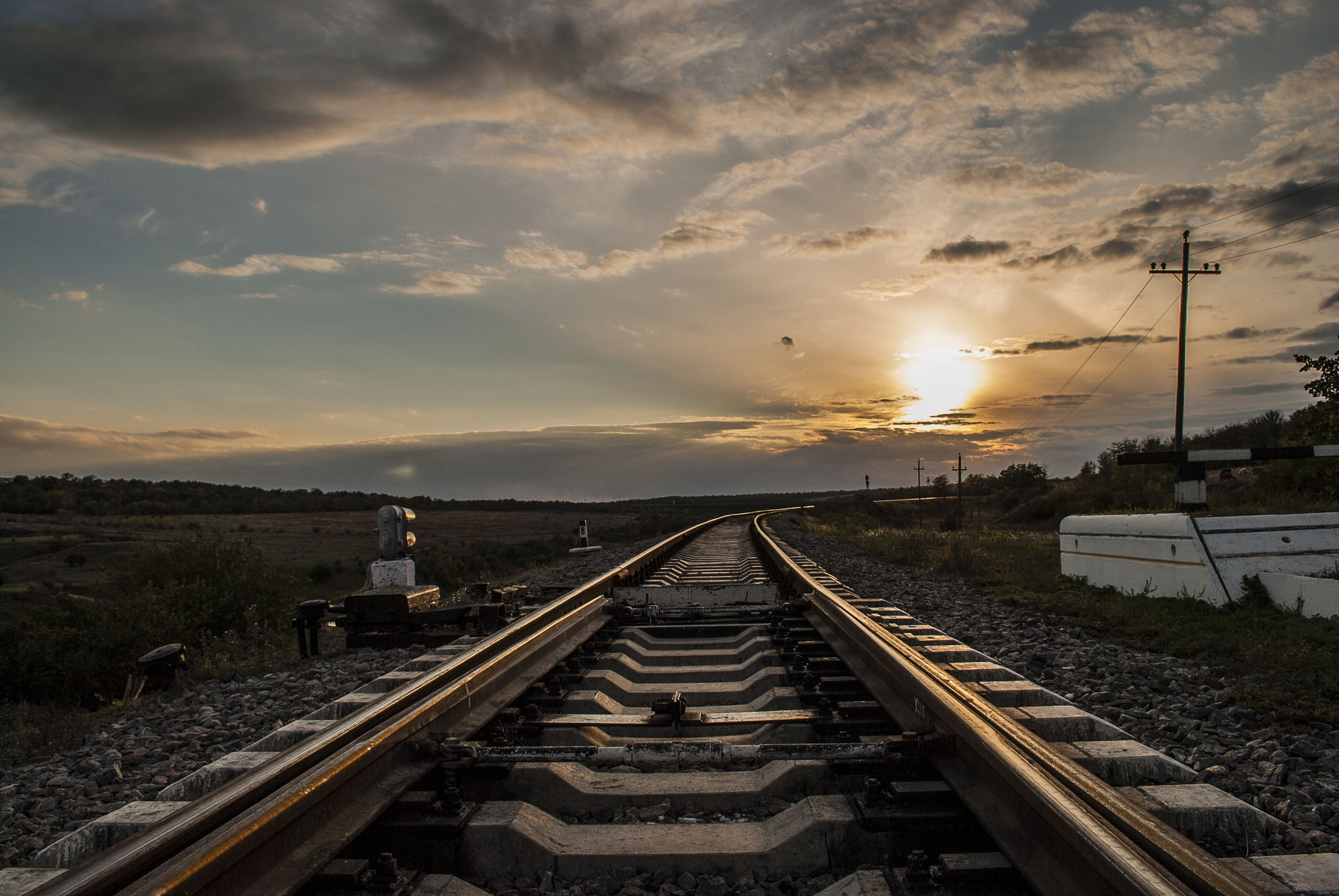 Photograph On the old railway by Krayan Storcheus on 500px