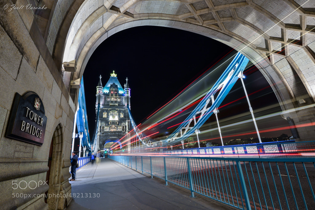 Photograph Tower Bridge London by Zsolt Varanka on 500px