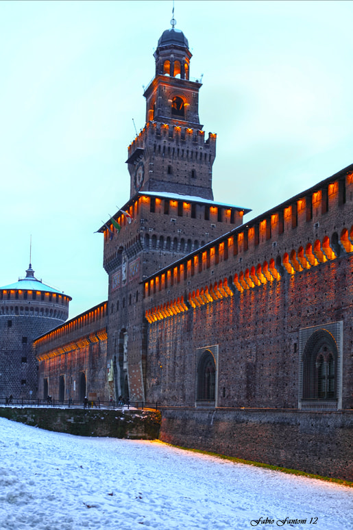 Photograph castle and snow by Fabio F on 500px