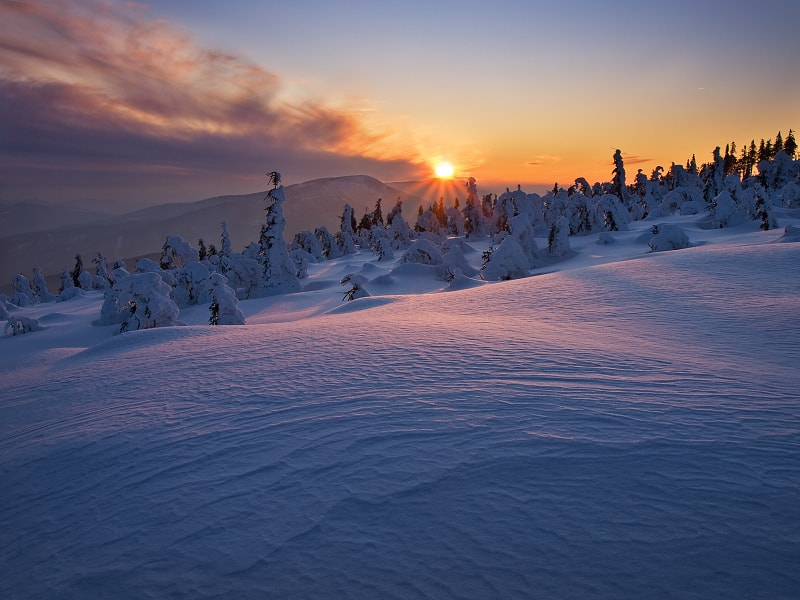 Photograph Beskyd Winter by Jan Bainar on 500px
