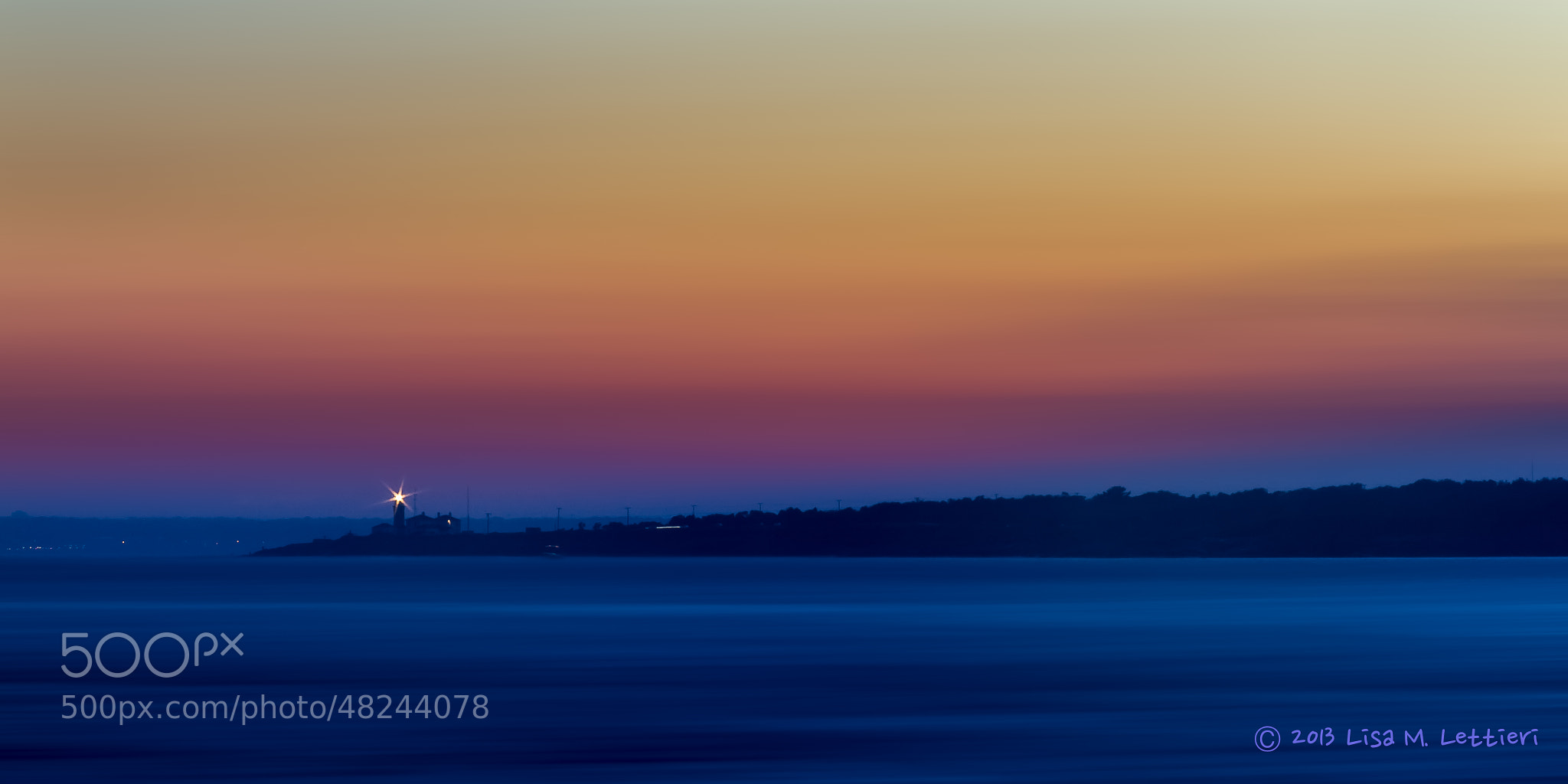 Photograph Beavertail Light at Work by Lisa Lettieri on 500px
