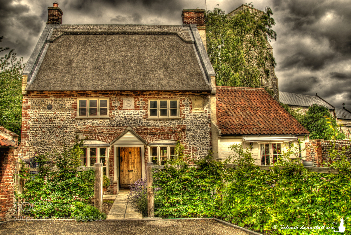 Photograph Thatch Cottage, Trunch c1625 by Salem Le Chat Noir on 500px