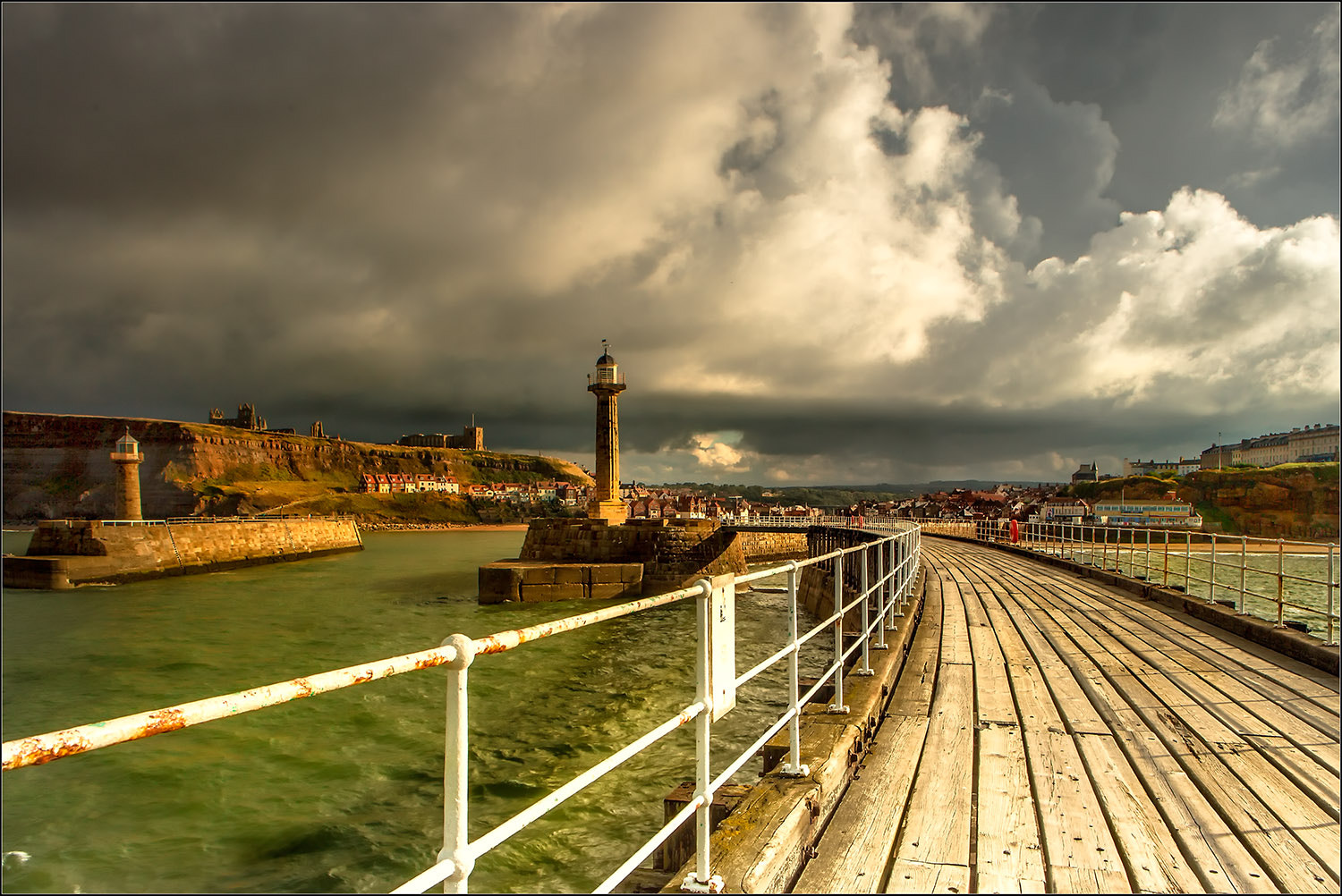 Photograph Whitby Pier by Brian Clark on 500px