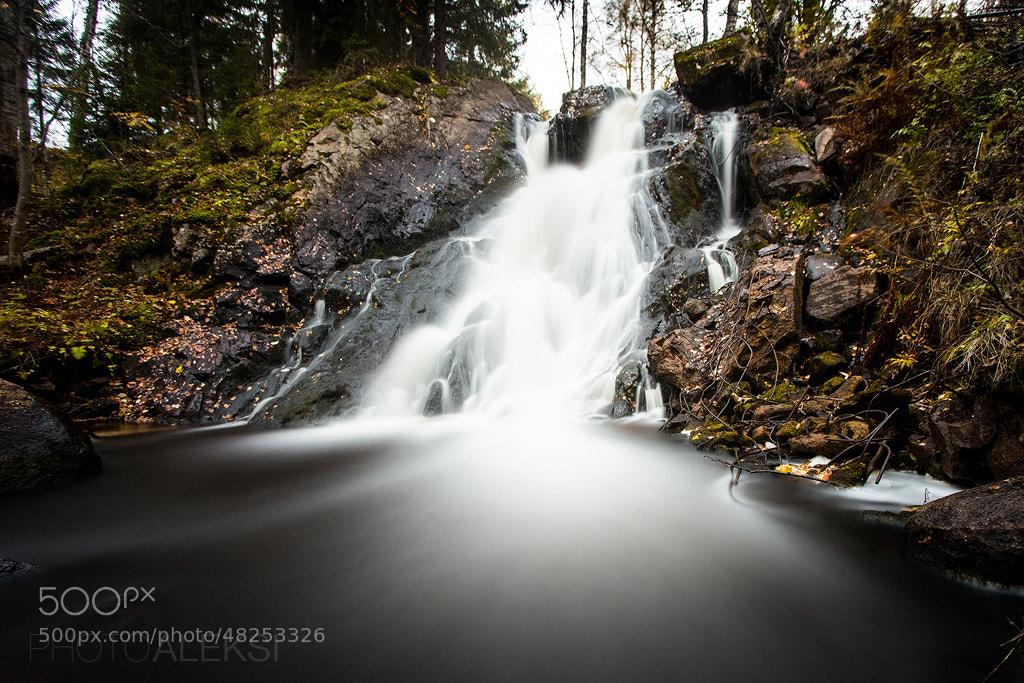 Photograph Juveninkoski autumn by Aleksi Hämäläinen on 500px