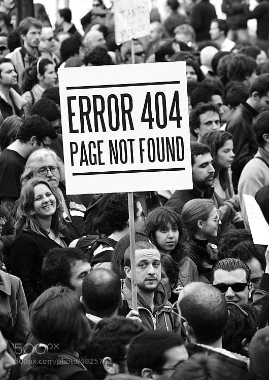 Error 404 by Dário  Martins (Elnhaco)) on 500px.com