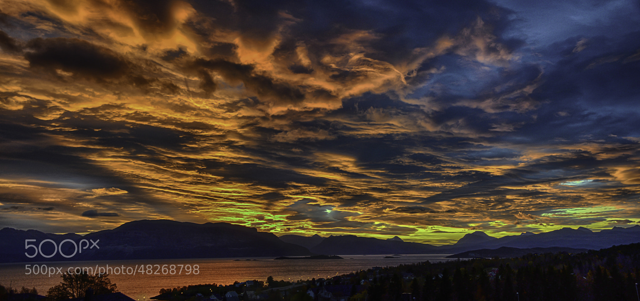 Photograph Sunrise panorama by Espen Hanssen on 500px