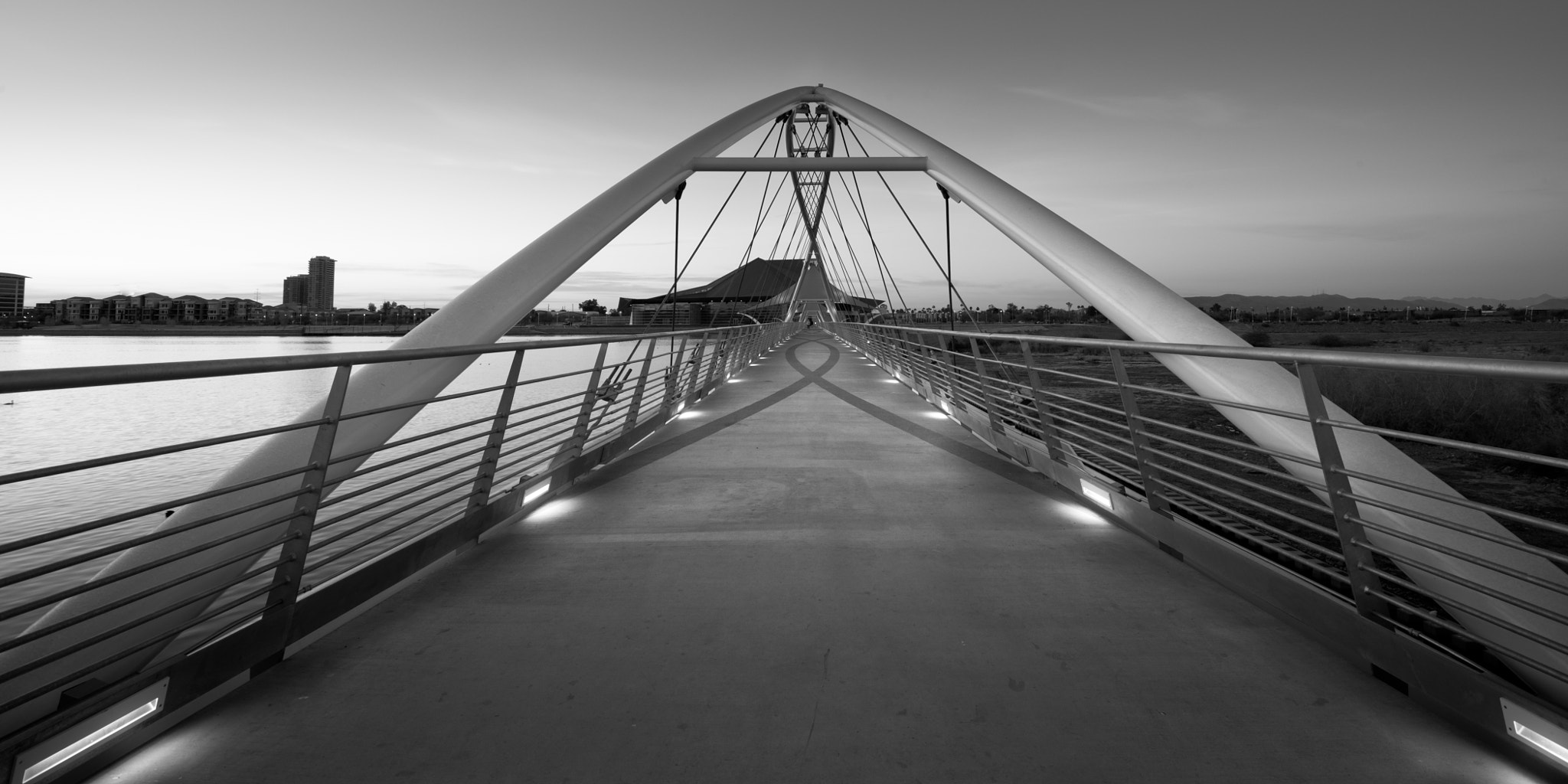 Photograph Bridge to Tempe by Chuck Sowers on 500px