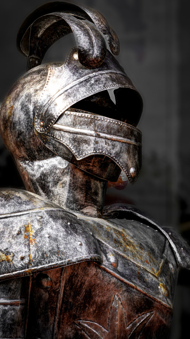 Photograph A Suit of Armor by Richard Harrington on 500px