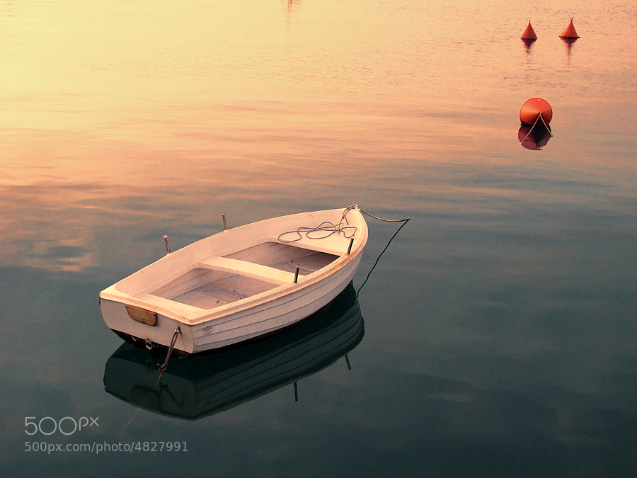Boat at sunset by Michele Galante (mgphoto70)) on 500px.com