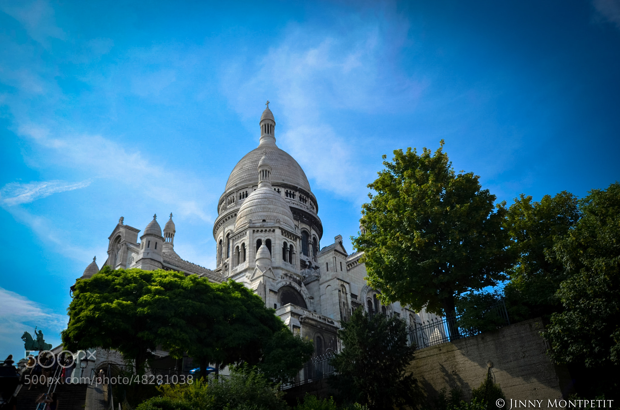 Photograph Sacré-Coeur by Jinny Montpetit on 500px