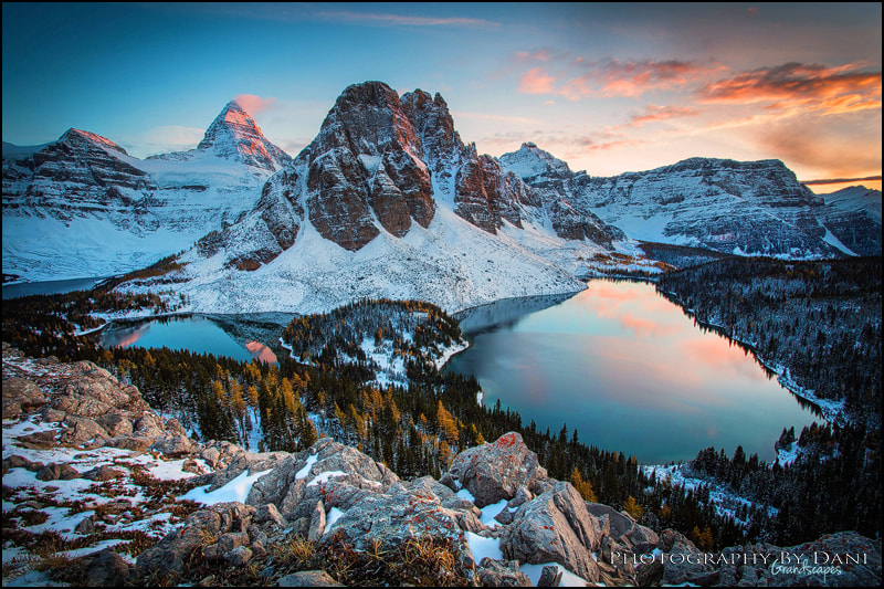 Photograph Assiniboine Sunset by Dani Lefrancois on 500px