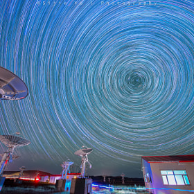 star trails by Sijie Yu on 500px.com