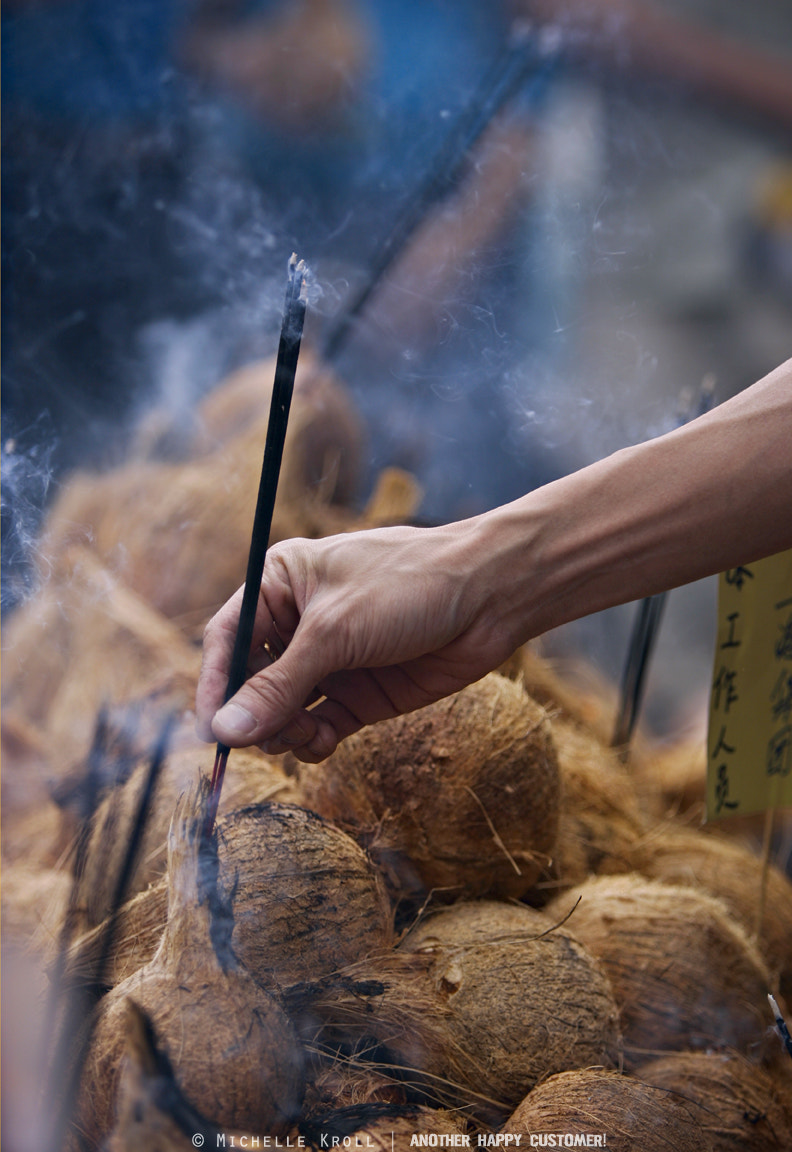 Photograph Coconut Incense by Michelle Kroll on 500px