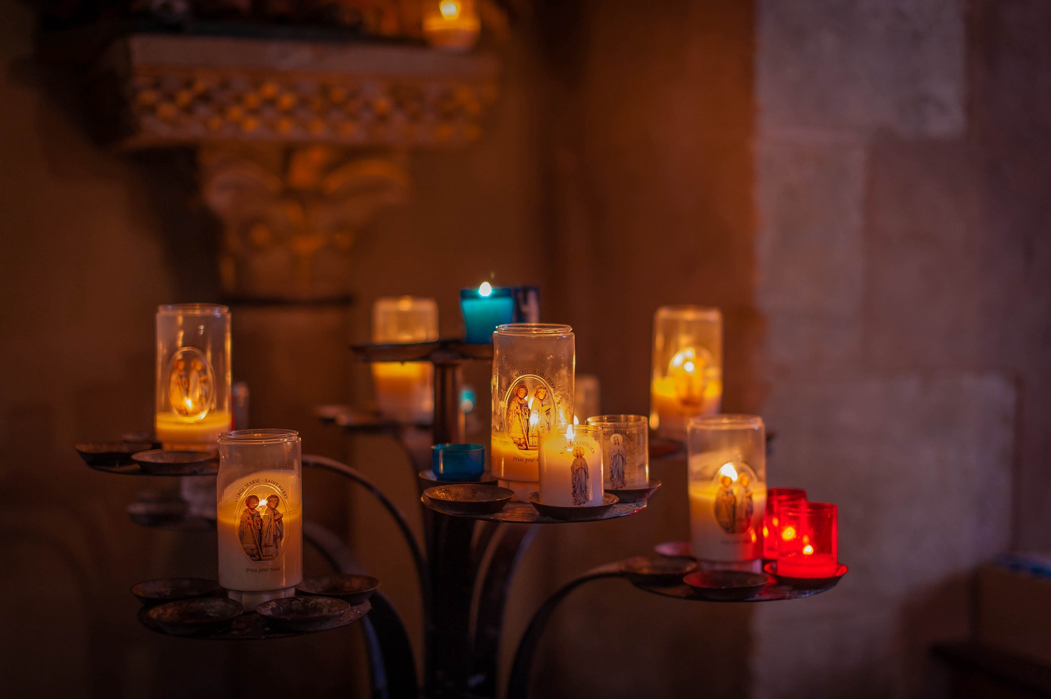 Photograph Candles of conques by serge vincent on 500px