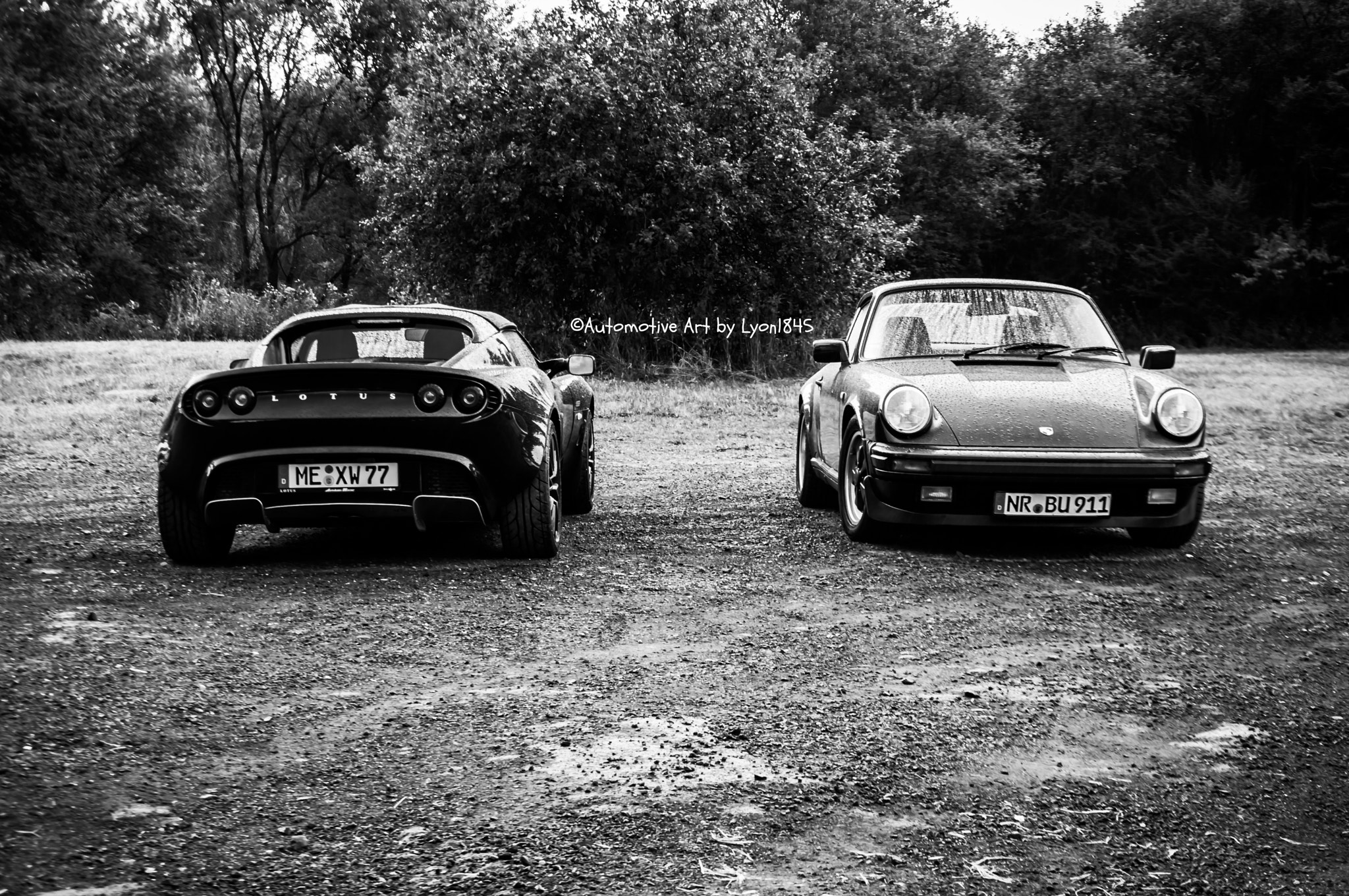 Photograph Lotus vs Porsche by lyon1845 on 500px