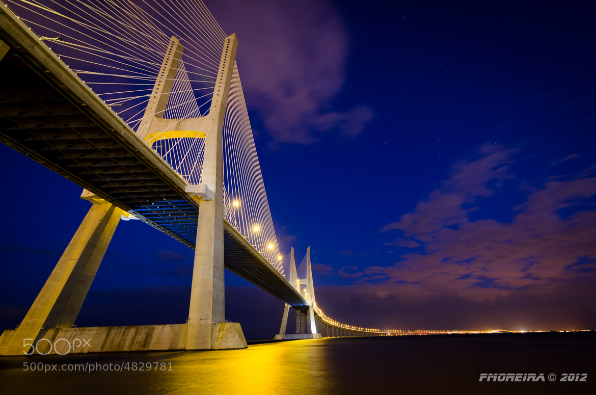 Photograph Ponte Vasco da Gama by Fernando Moreira on 500px