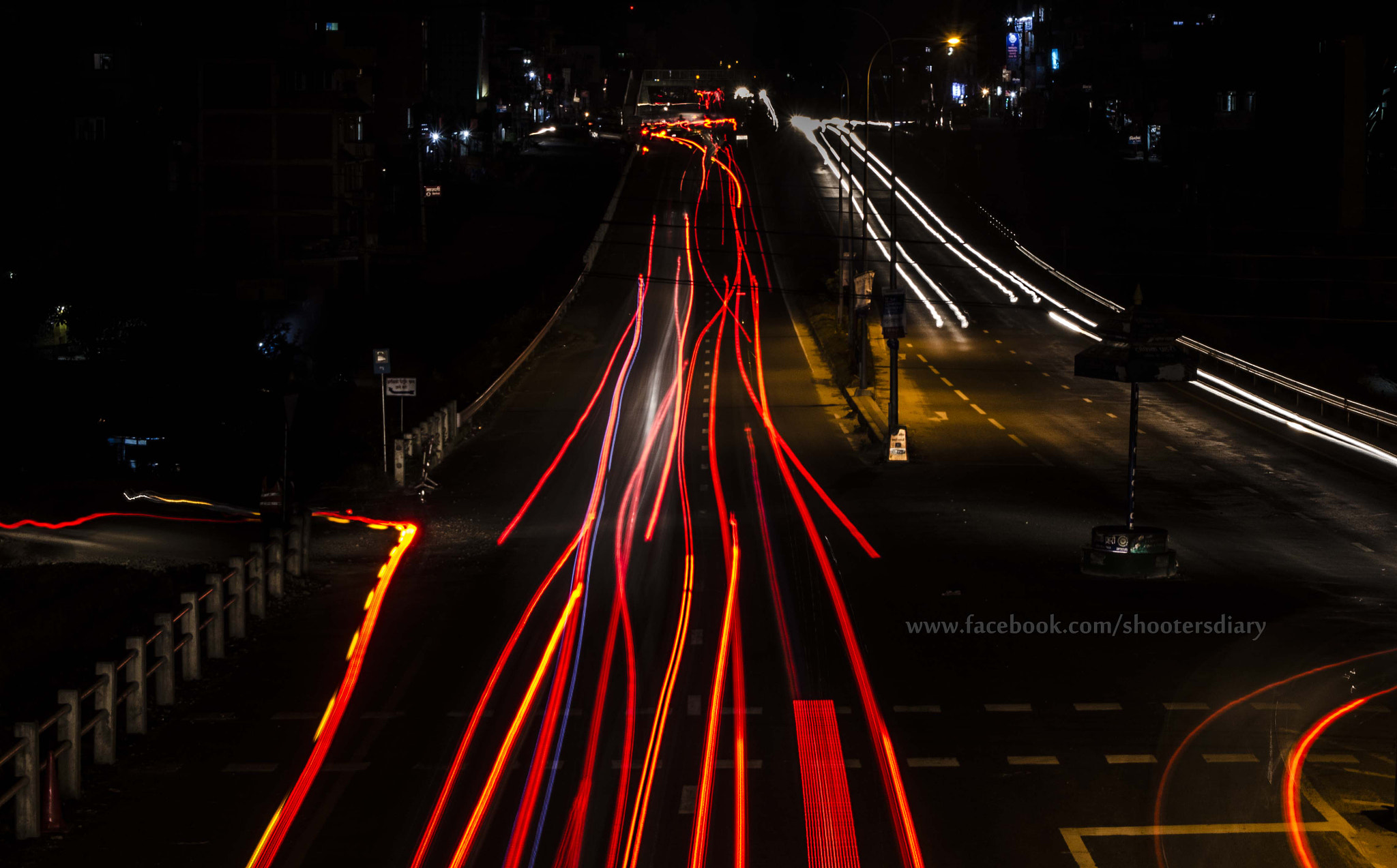 Photograph Night lines by Tejaswee Rajthala on 500px
