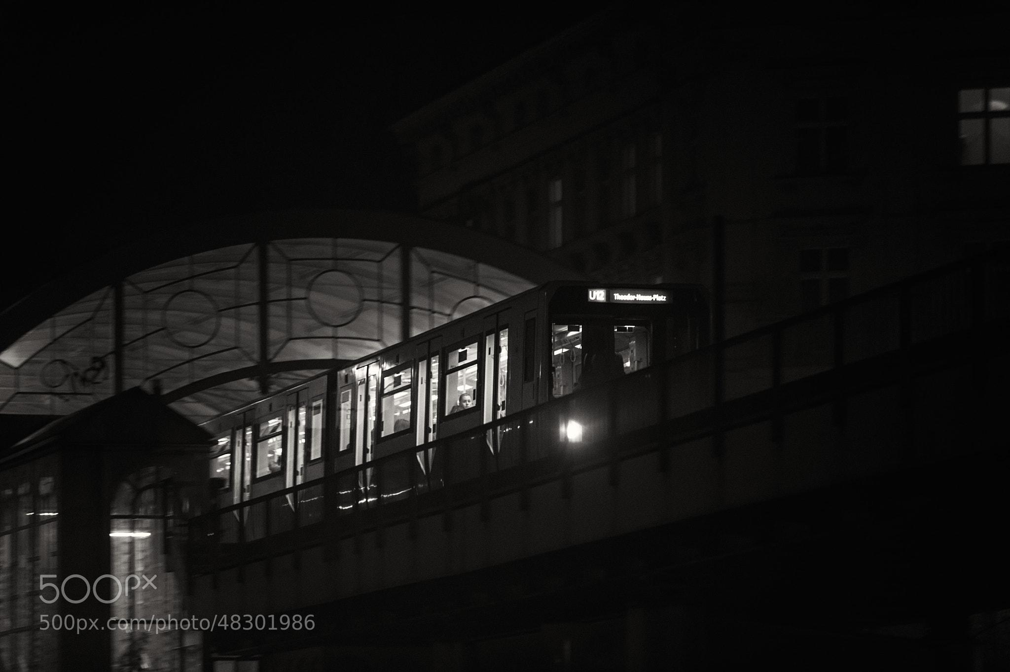 Photograph Berlin - Görlitzer Bahnhof (sw) Var I by Franz Engels on 500px