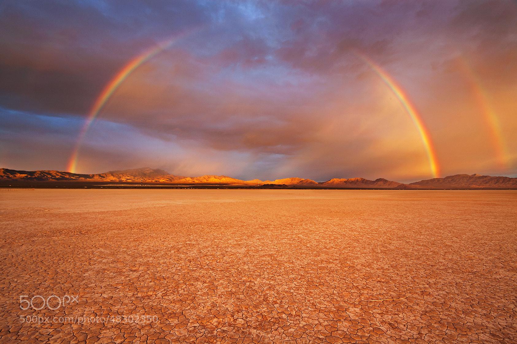 Photograph California Desert Rainbow by Chad Ward on 500px