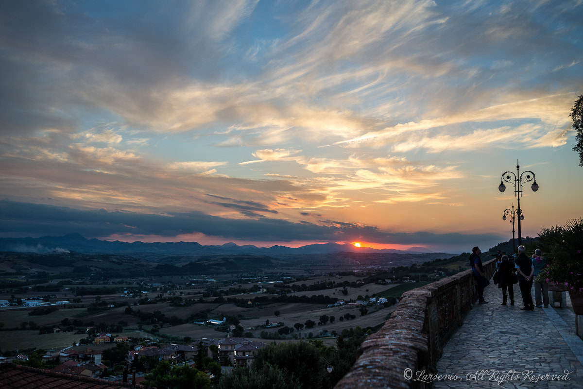 Photograph sunset by Roberto Flamini on 500px