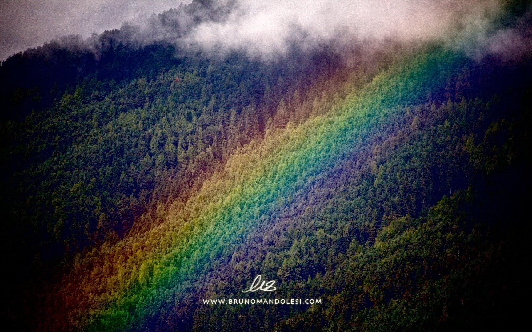 Photograph Fall rainbow by bruno mandolesi on 500px
