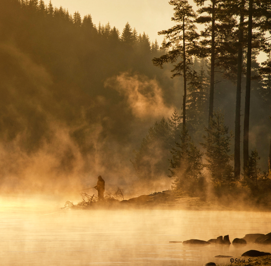 Photograph Fisherman's  morning mists by Silvia S. on 500px