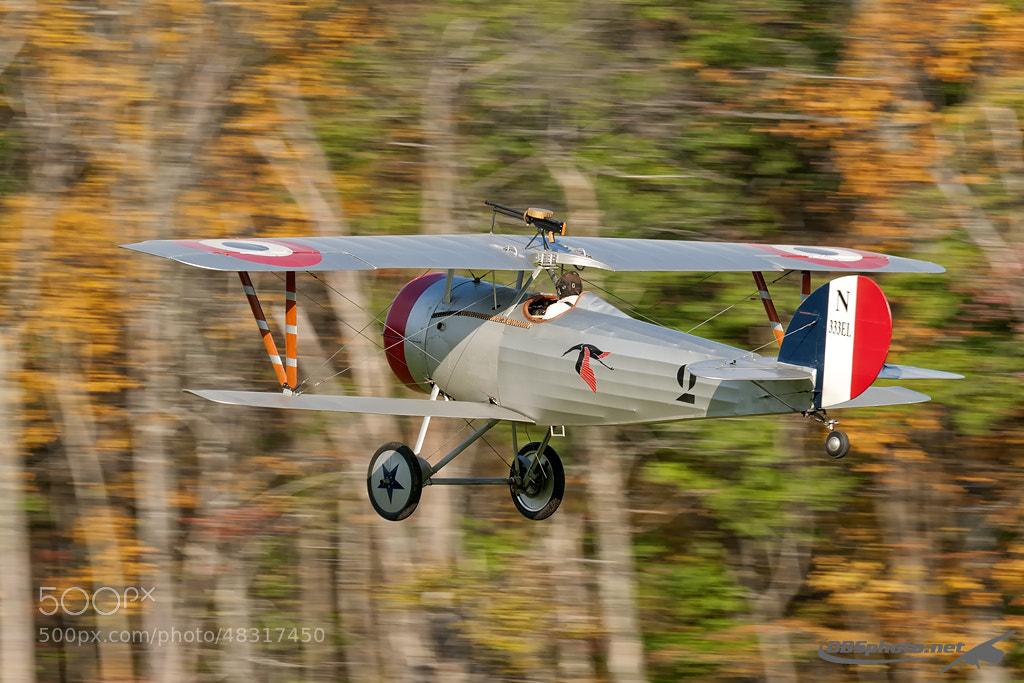 Photograph Redfen Nieuport 24 by Darek Siusta on 500px