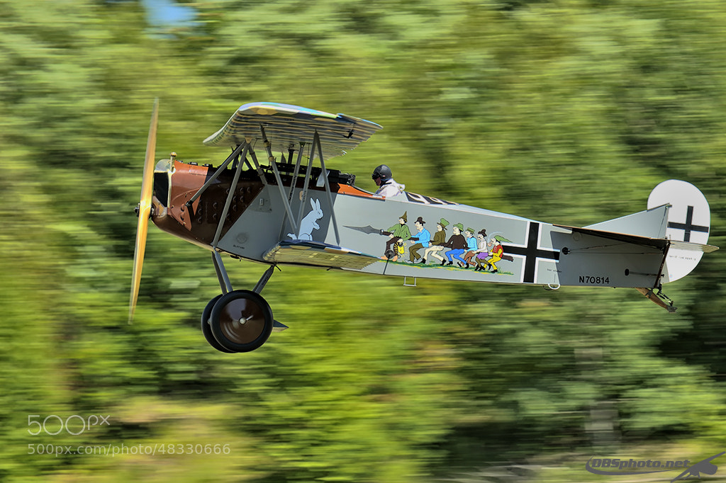 Photograph Fokker D-VII by Darek Siusta on 500px