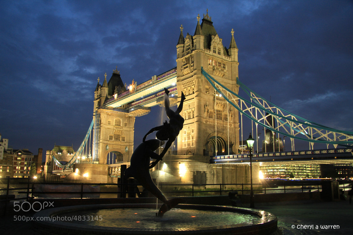 Photograph tower bridge at night by Cheri Warren on 500px