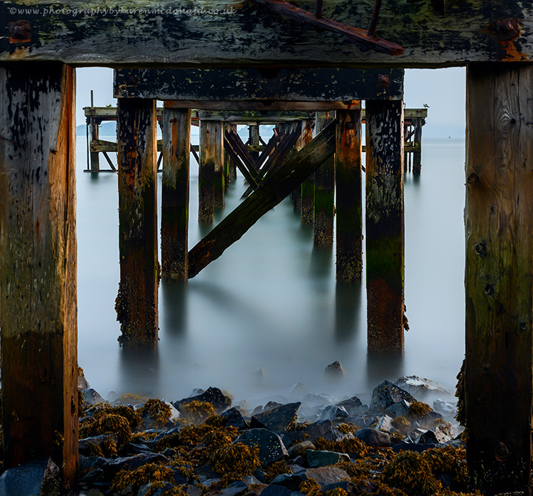 Photograph Underneath the Old Pier by Karen McDonald on 500px