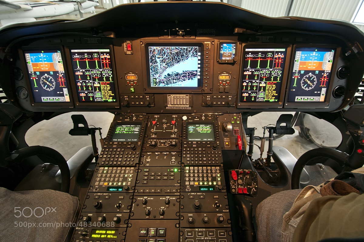 Photograph Augusta's cockpit by Darek Siusta on 500px