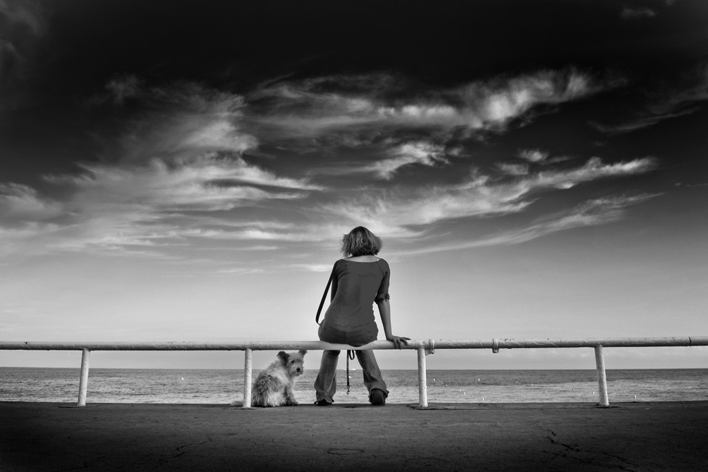 Photograph * The dog and the women * by clement jousse on 500px