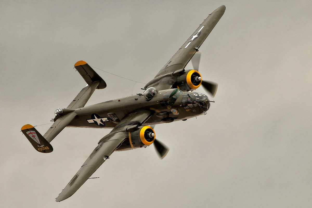 Photograph B-25J Mitchell by Darek Siusta on 500px