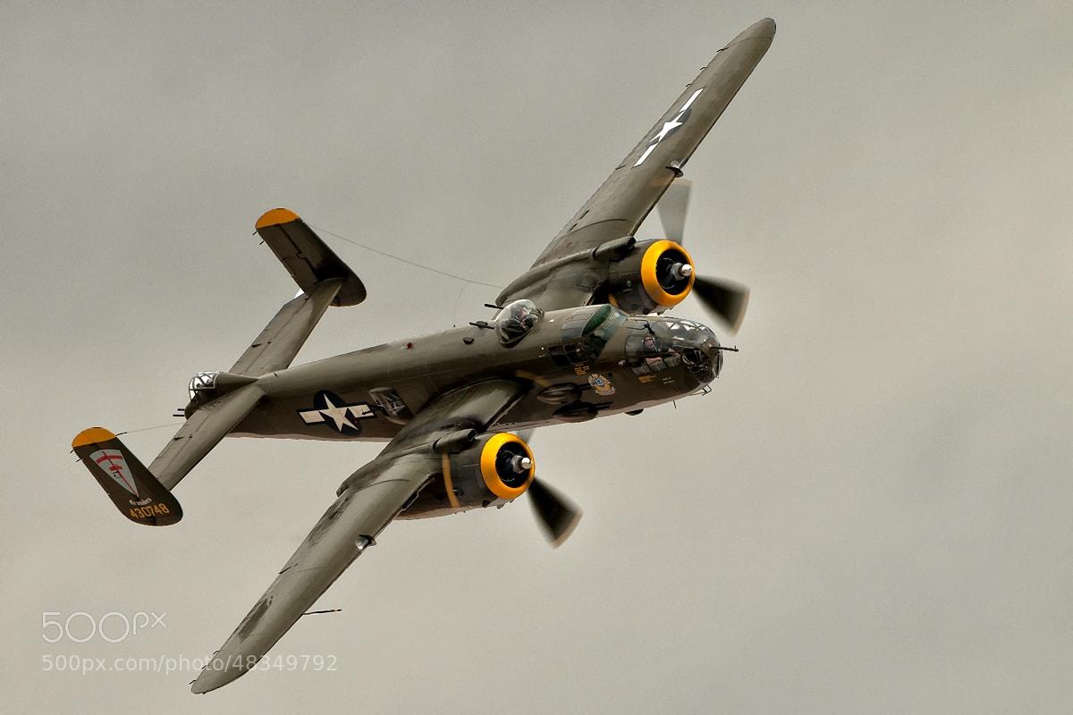 Photograph B-25J Mitchell by Darek Siusta on 500px