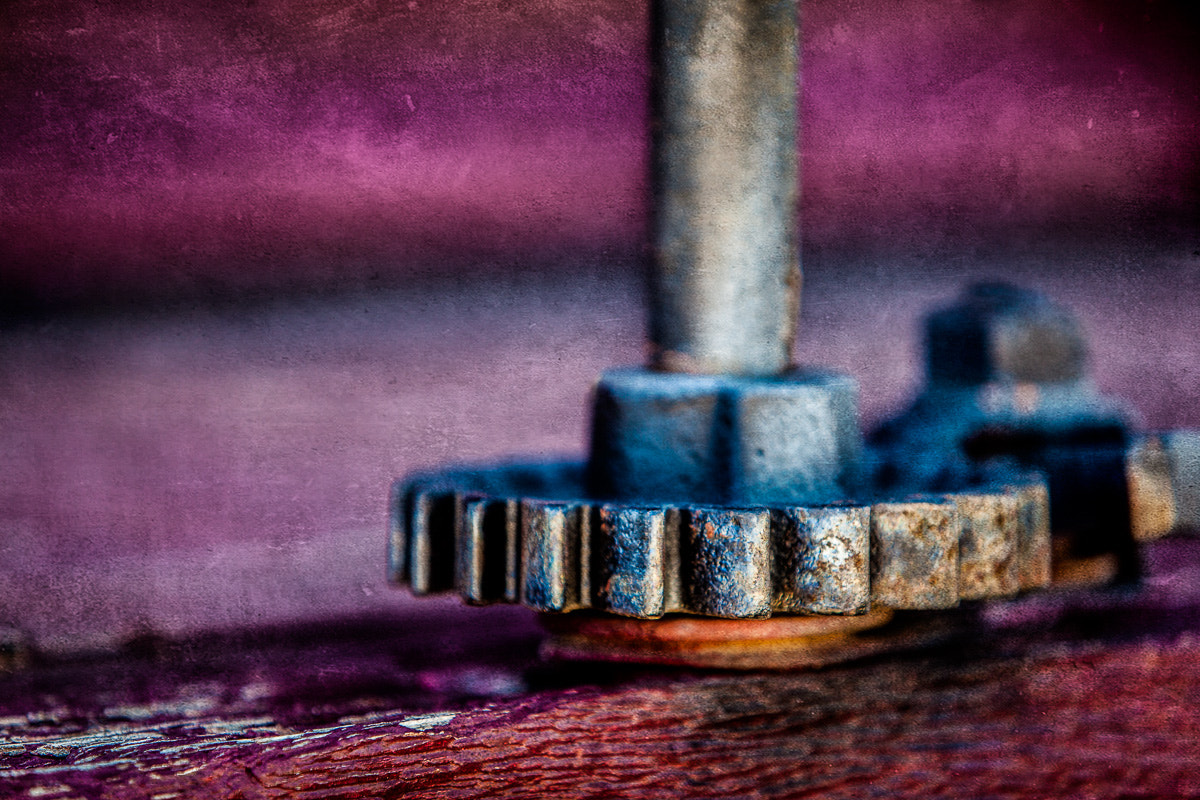 Photograph Old Gear by Paul Bartell on 500px