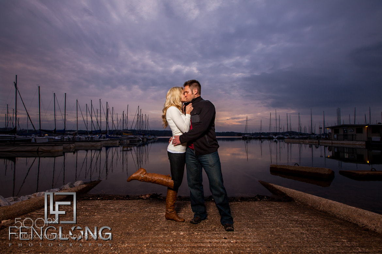 Photograph Leslie & Phil's Engagement Session | Sunrise Cove Marina | Lake Lanier Wedding Photographer by Zachary Long on 500px