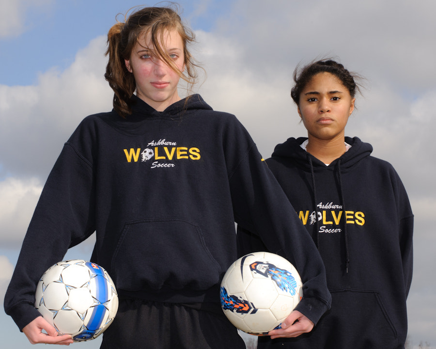 Photograph U14 Girls Travel Soccer by Ron Evans on 500px