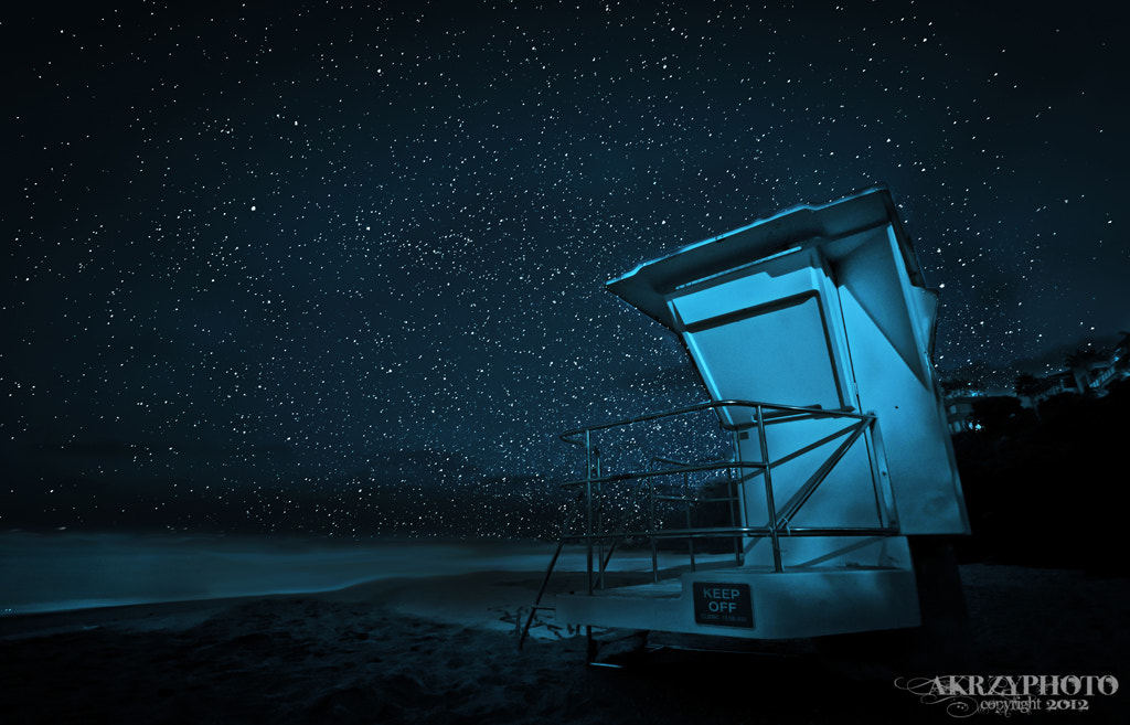 Photograph Tower under the Stars by Andy Krzyzanowski on 500px