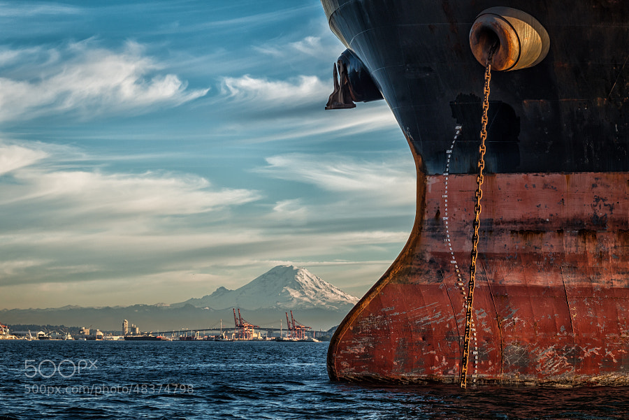 Photograph At Anchor by Dale Johnson on 500px