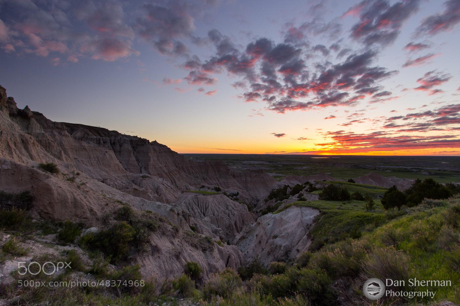 Photograph Badlands by Dan Sherman on 500px