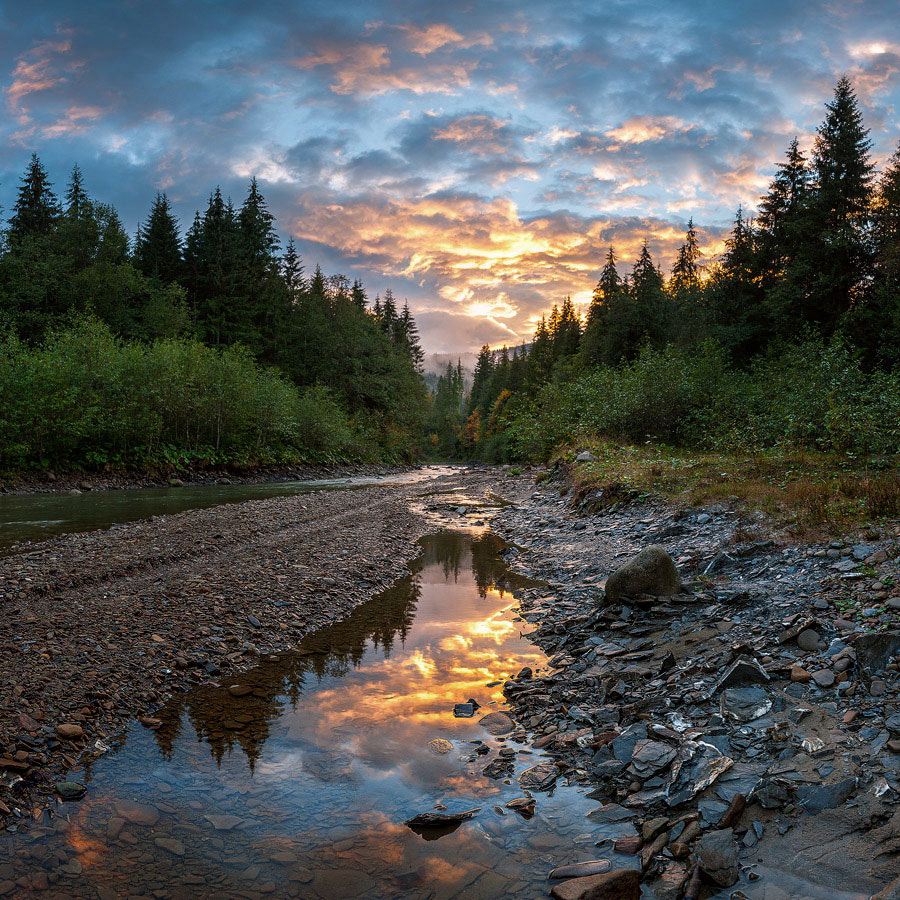Photograph Evening on the River Prut by Dmytro Balkhovitin on 500px