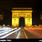 Постер, плакат: Arc de Triomphe Paris