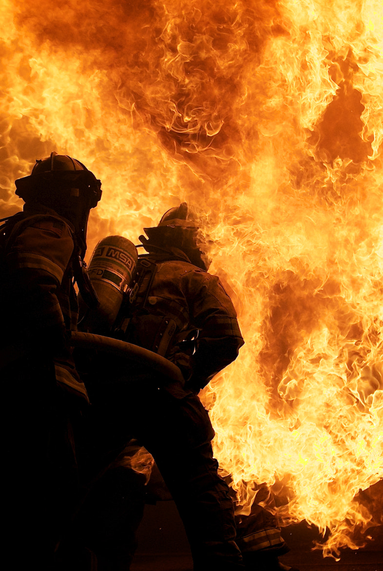 Photograph Fire Fighters by Farris Gerard on 500px