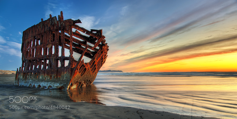 Photograph Peter Iredale by Cody Wilson on 500px