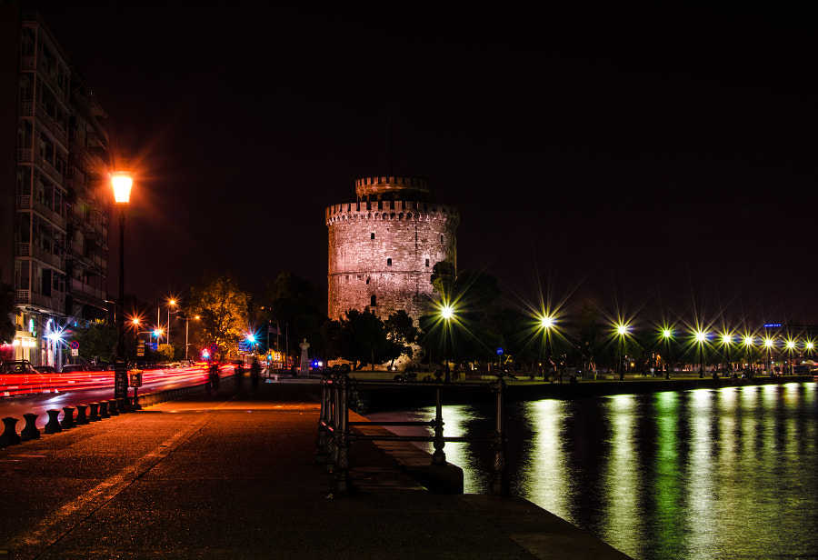 Photograph Colors | White Tower | Thessaloniki by Evangelos Loutsetis on 500px