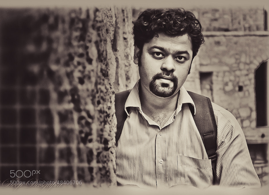 Photograph Self portrait by Deep Dasgupta on 500px